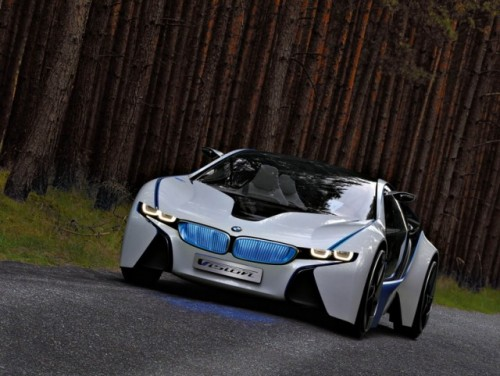 Supercarul BMW EfficientDynamics intra in linie dreapta27692