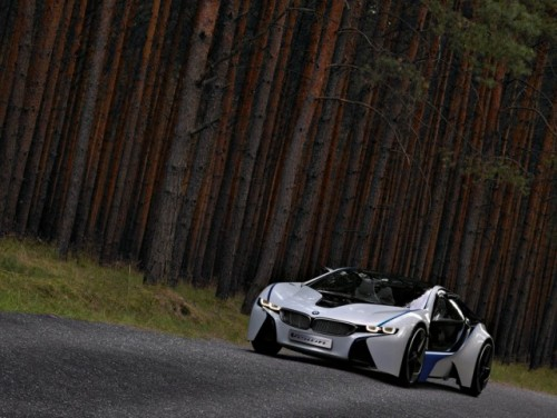 Supercarul BMW EfficientDynamics intra in linie dreapta27706