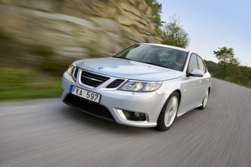 Saab 9-3 full electric e gata de teste27599