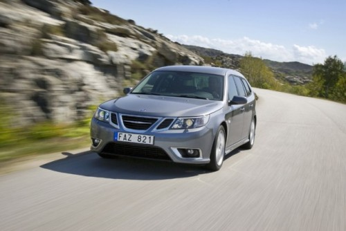 Saab 9-3 full electric e gata de teste27602