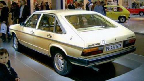 Noul Audi A7 Sportback are un predecesor din 197727560