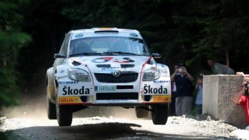 Skoda Fabia S2000 la Raliul Sibiului 201027374