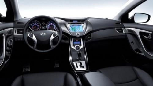 Iata prima imagine cu interiorul noului Hyundai Elantra!27279