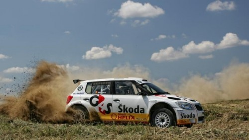 Skoda Fabia S2000, prezentata in Romania27229