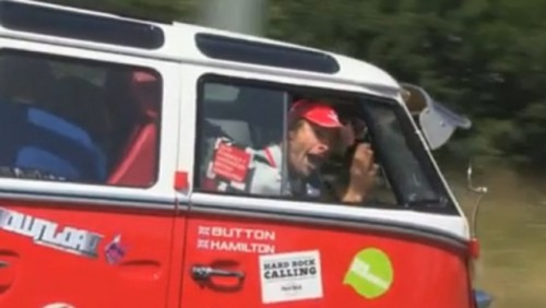 VIDEO: Button si Hamilton in drum spre Silverstone26975