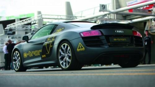 Audi R8 e-tron participa la Silvretta E-Auto Rally Montafon 201026931