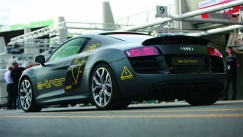 Audi R8 e-tron participa la Silvretta E-Auto Rally Montafon 201026935
