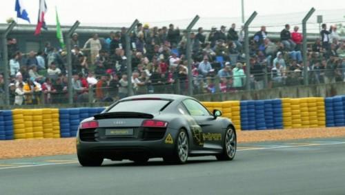 Audi R8 e-tron participa la Silvretta E-Auto Rally Montafon 201026937