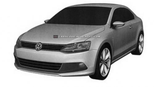 Volkswagen a patentat design-ul noului Jetta Coupe26914