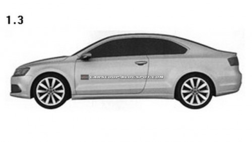 Volkswagen a patentat design-ul noului Jetta Coupe26916