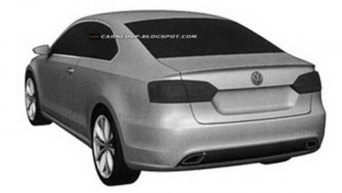 Volkswagen a patentat design-ul noului Jetta Coupe26918