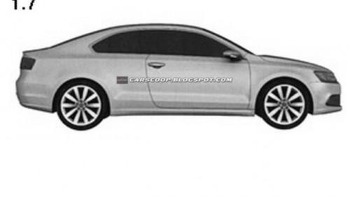 Volkswagen a patentat design-ul noului Jetta Coupe26920