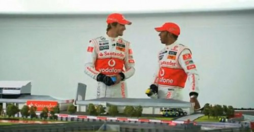 VIDEO: Cum se pregatesc Button si Hamilton de noul Silverstone26807