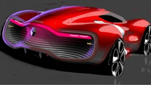 Iata noul concept Renault DeZir coupe!26756