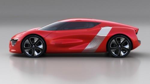 Iata noul concept Renault DeZir coupe!26764