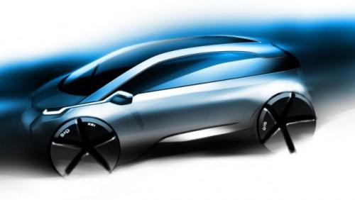 BMW prezinta primul teaser pentru noul Megacity EV26723