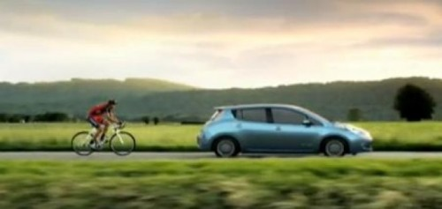 VIDEO: Lance Armstrong promoveaza Nissan Leaf26721