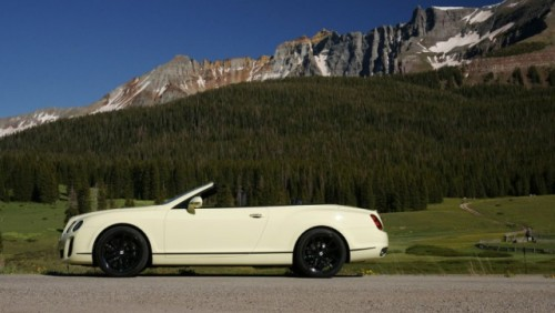 GALERIE FOTO: Noi imagini cu modelul Bentley Continental Supersports Cabrio26296