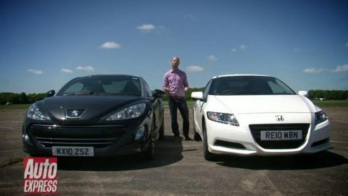 VIDEO: Peugeot RCZ vs. Honda CR-Z26276