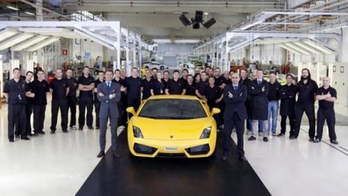 Lamborghini a produs 10.000 de unitati Gallardo26230