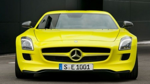 Mercedes pregateste un model SLS AMG electric26141
