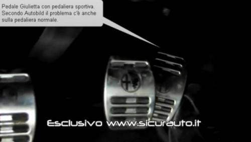 VIDEO: Alfa Romeo Giulietta are probleme cu pedala de acceleratie26077