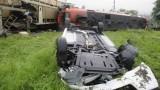 Un tren incarcat cu peste 200 de automobile Dacia a deraiat in Austria26040