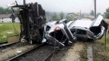 Un tren incarcat cu peste 200 de automobile Dacia a deraiat in Austria26038