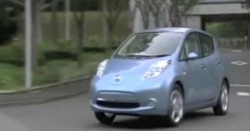 VIDEO:  Avertizare sonora pentru pietoni la Nissan Leaf25939