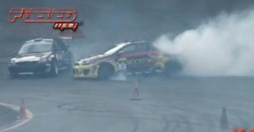 VIDEO: Accident la o demonstratie de drifting25790