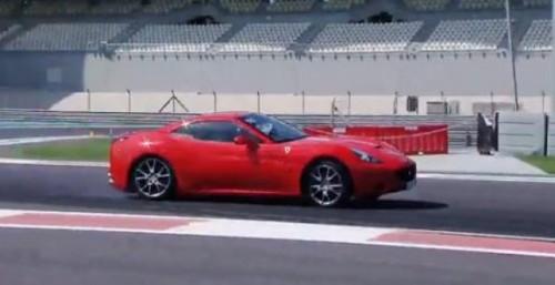 VIDEO: Drift-uri cu Ferrari California25745