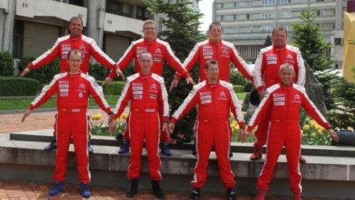 5 piloti inscrisi in Citroen Racing Trophy la Raliul Targu Mures25725