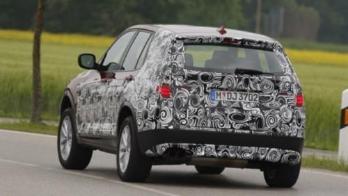 Primele detalii oficiale despre noul BMW X325702