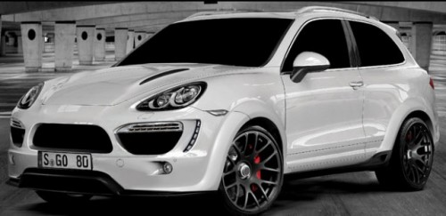 Iata cum arata Porsche Cayenne cu 2 usi!25690