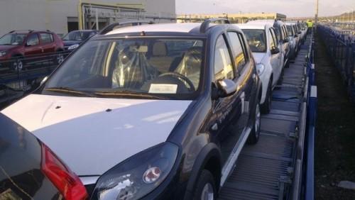 Austriecii transporta Daciile exportate25602