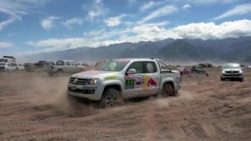 VIDEO: Volkswagen Amarok in actiune!25557