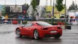 Galerie Foto: Fisichella a facut o demonstratie cu Ferrari 458 Italia in Romania25351