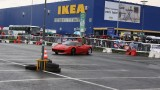 Galerie Foto: Fisichella a facut o demonstratie cu Ferrari 458 Italia in Romania25353