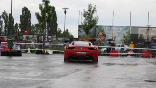Galerie Foto: Fisichella a facut o demonstratie cu Ferrari 458 Italia in Romania25354