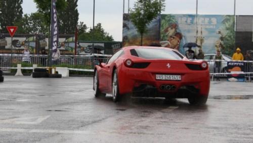 Galerie Foto: Fisichella a facut o demonstratie cu Ferrari 458 Italia in Romania25355