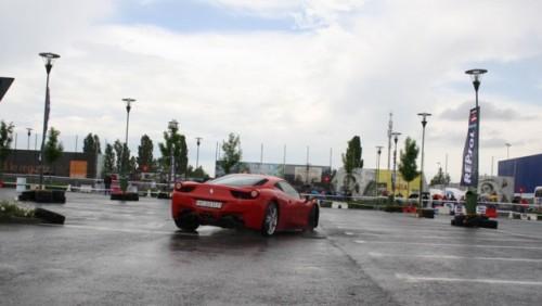 Galerie Foto: Fisichella a facut o demonstratie cu Ferrari 458 Italia in Romania25356