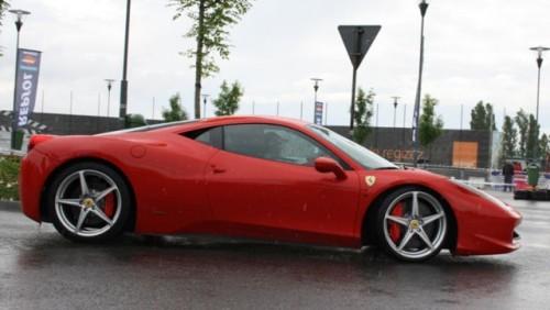 Galerie Foto: Fisichella a facut o demonstratie cu Ferrari 458 Italia in Romania25357