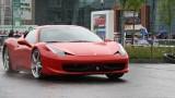 Galerie Foto: Fisichella a facut o demonstratie cu Ferrari 458 Italia in Romania25358