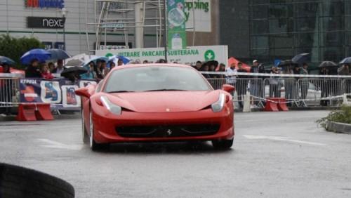 Galerie Foto: Fisichella a facut o demonstratie cu Ferrari 458 Italia in Romania25359