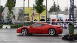 Galerie Foto: Fisichella a facut o demonstratie cu Ferrari 458 Italia in Romania25360