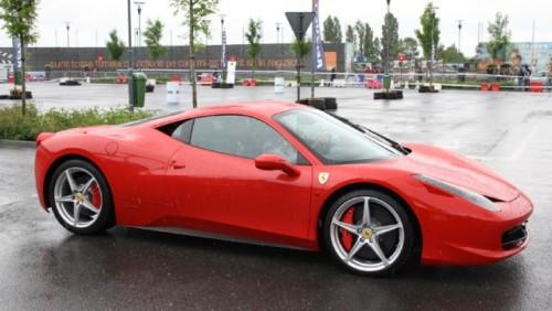 Galerie Foto: Fisichella a facut o demonstratie cu Ferrari 458 Italia in Romania25364