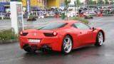 Galerie Foto: Fisichella a facut o demonstratie cu Ferrari 458 Italia in Romania25366
