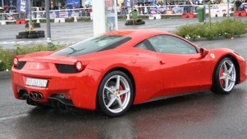 Galerie Foto: Fisichella a facut o demonstratie cu Ferrari 458 Italia in Romania25367
