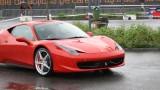 Galerie Foto: Fisichella a facut o demonstratie cu Ferrari 458 Italia in Romania25368