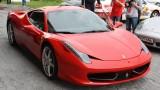 Galerie Foto: Fisichella a facut o demonstratie cu Ferrari 458 Italia in Romania25369